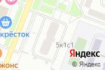 Схема проезда до компании Буква в Москве