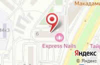 Схема проезда до компании Артиссимо в Москве