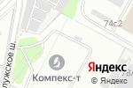 Схема проезда до компании Арт-ЭкоСтрой в Москве