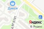 Схема проезда до компании ИЛАТАН в Москве