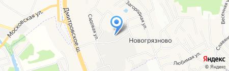 Айскейк-ЭКО на карте Грибков