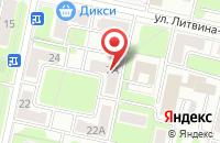 Схема проезда до компании Артен в Москве