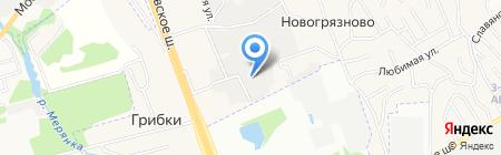 ТС Арсенал на карте Грибков