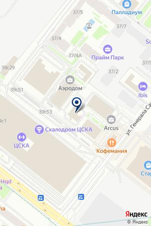 ПКФ ISOROC на карте Москвы