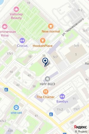 ФЭЦИТ на карте Москвы