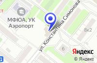 Схема проезда до компании КБ ИНТЕЛФИНАНС в Москве