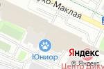 Схема проезда до компании Всё своё в Москве