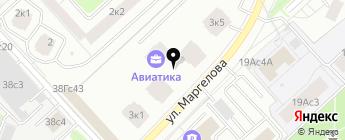MTech на карте Москвы