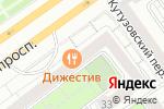 Схема проезда до компании ED & SPA в Москве