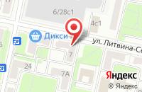 Схема проезда до компании Принтдизайн в Москве
