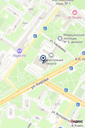 ПОДОЛЬСКОЕ УПРАВЛЕНИЕ на карте Подольска