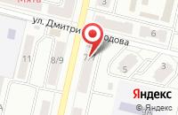 Схема проезда до компании Связной в Климовске
