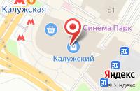 Схема проезда до компании Молодежная Федерация Айкидо России в Москве