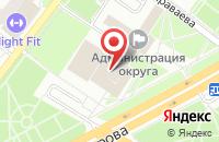 Схема проезда до компании Подольск-Спас в Подольске