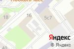 Схема проезда до компании Экономика и жизнь в Москве