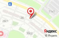 Схема проезда до компании Крафт в Москве