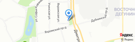 Мастерица-М на карте Москвы