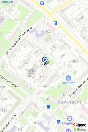 ТФ ИЛЭН на карте Красноармейска