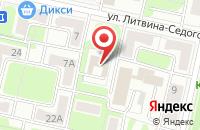 Схема проезда до компании Пушкинская Библиотека в Москве