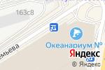 Схема проезда до компании Стрелковый тир в Москве