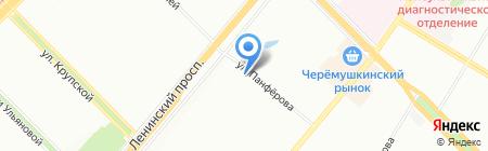 Домострой-Недвижимость на карте Москвы