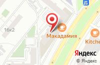 Схема проезда до компании Ликъ ЯРА в Москве