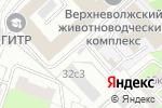 Схема проезда до компании Никерман в Москве