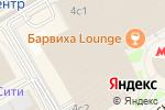 Схема проезда до компании Evolution Tower в Москве