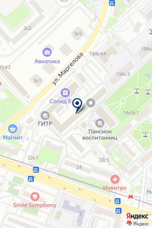 РЕДАКЦИЯ ЖУРНАЛА ВОИН РОССИИ на карте Москвы