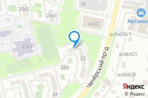 Однокомнатная квартира в Москве Чечёрский пр., 22
