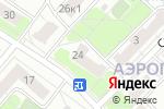 Схема проезда до компании Вандафлор в Москве
