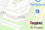 Схема проезда до компании Альпгород в Москве