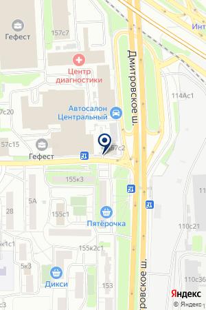 ПТФ АВТОЗАПЧАСТИ ПАЗ на карте Дмитрова