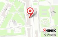 Схема проезда до компании МУЖРП №5 в Подольске