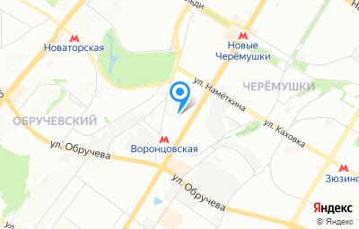 Местоположение на карте пункта техосмотра по адресу г Москва, ул Профсоюзная, д 78А стр 4