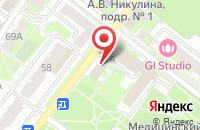 Схема проезда до компании Магазин штор в Подольске
