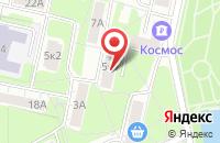 Схема проезда до компании Инком в Москве