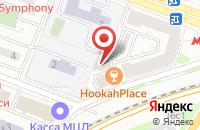 Схема проезда до компании МедиаМакси в Москве