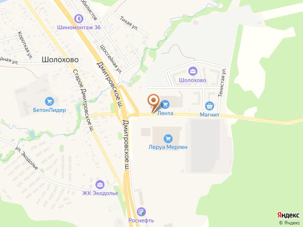 Остановка Шолохово (Московская область)