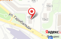 Схема проезда до компании Флаг Манн в Москве