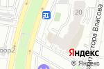 Схема проезда до компании Усадьба Воронцово в Москве