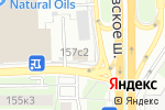 Схема проезда до компании РосПолимерСтрой в Москве