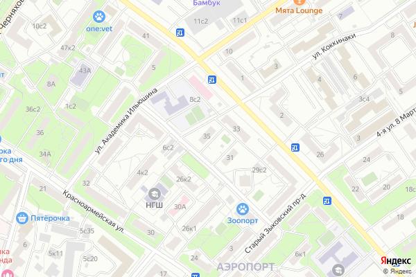 Ремонт телевизоров Район Аэропорт на яндекс карте