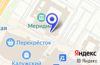 Схема проезда до компании КУЛЬТУРНЫЙ ЦЕНТР МЕРИДИАН в Москве