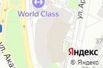 Схема проезда до компании Вейп-шоп в Москве