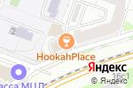 Схема проезда до компании taxopizza в Москве