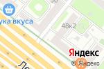 Схема проезда до компании Chianti Classico в Москве