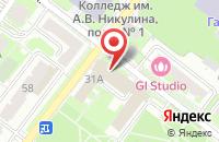 Схема проезда до компании АВД-клининг в Подольске