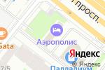 Схема проезда до компании F-Lounge Ленинградка в Москве