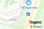 Схема проезда до компании Жалюзи Новоясеневская в Москве